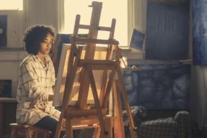 artiste peintre femme